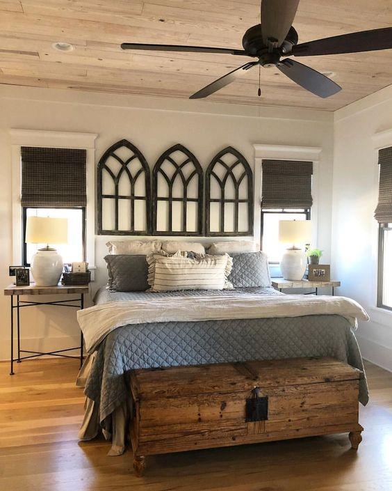 farmhouse bedroom decor 15