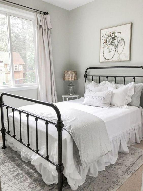 farmhouse bedroom decor 22