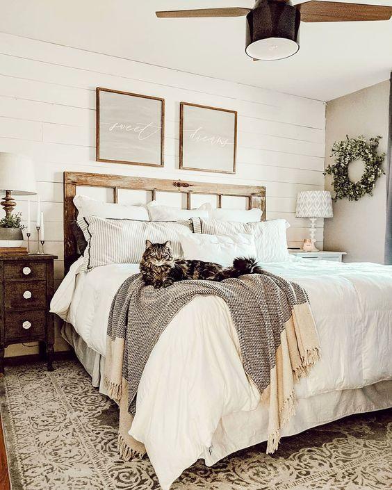farmhouse bedroom decor 23
